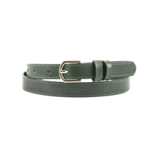 Curele Benvenuti Women's belt Benvenuti green leather 18dcu2018259dgv
