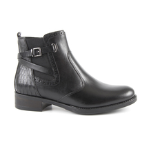 Ghete Benvenuti Women's boots Benvenuti black leather 808dg2145n