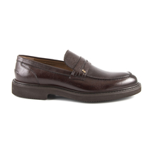 Pantofi Enzo Bertini Men's shoes Enzo Bertini brown leather 3688bp05004m