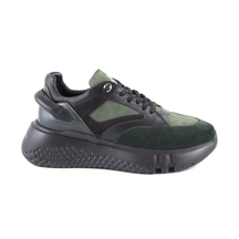 Pantofi Enzo Bertini Men's shoes Enzo Bertini green leather 2528bp5106v