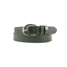 Curele Enzo Bertini Women's belt Enzo Bertini green leather 28dcu3018784dgv