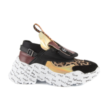 Pantofi Enzo Bertini Women's shoes Enzo Bertini multicolor leather 2138dp2843n