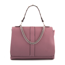 Posete Enzo Bertini Enzo Bertini Chain Tote Bag in Pink leather 3370POSP5086RO