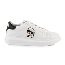 KARL LAGERFELD Karl Lagerfeld men's sneakers in white leather 2050BP52530A