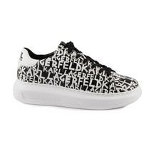 Pantofi KARL LAGERFELD Karl Lagerfeld women's sneakers in black and white leather 2050DP62526A