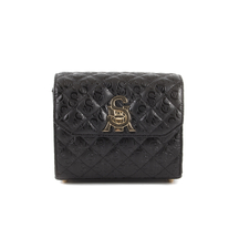 Posete Steve Madden Steve Madden Women's Tote Quilted Bag in black faux leather 1460POSSJULIETEN