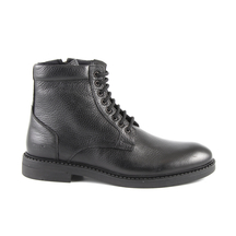 Ghete Thezeus Men's boots Thezeus black leather 1378bg2190n